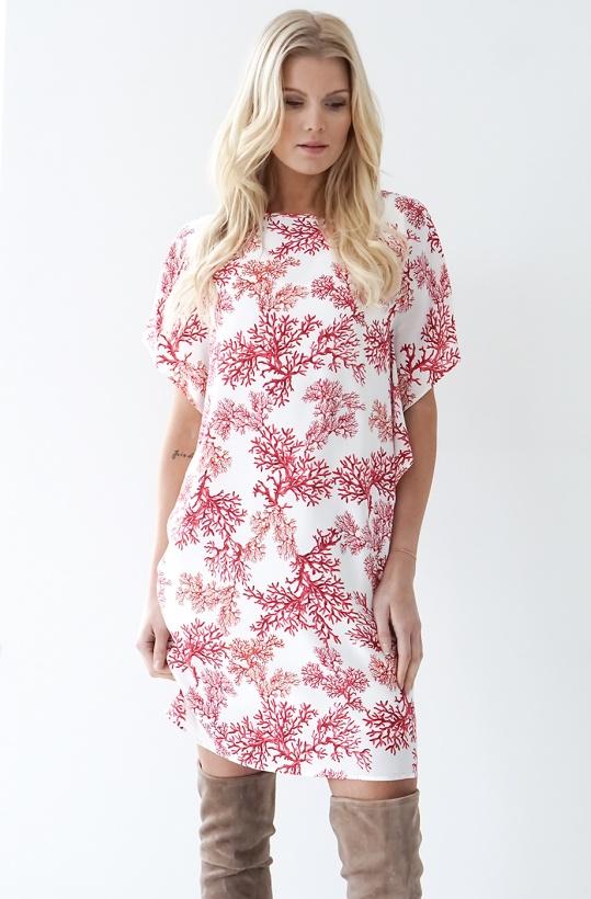 NADINE H - Coral Dress