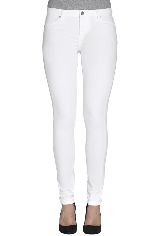 2ND ONE - Pure White Jeans