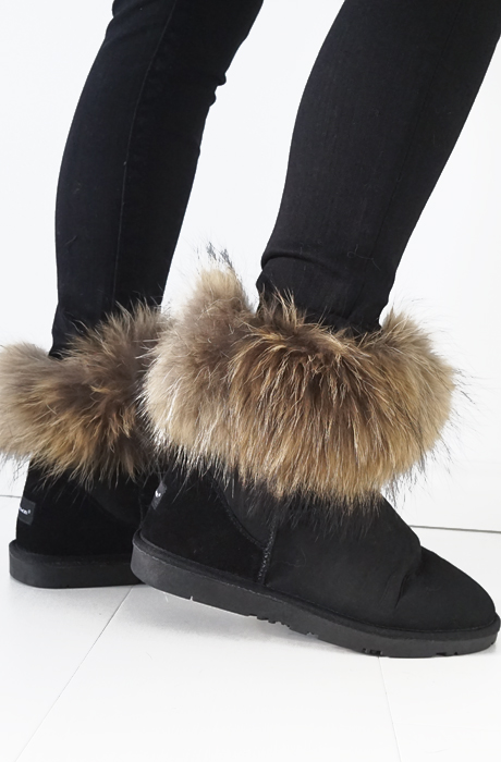 NOME - FUR BOOT LOW