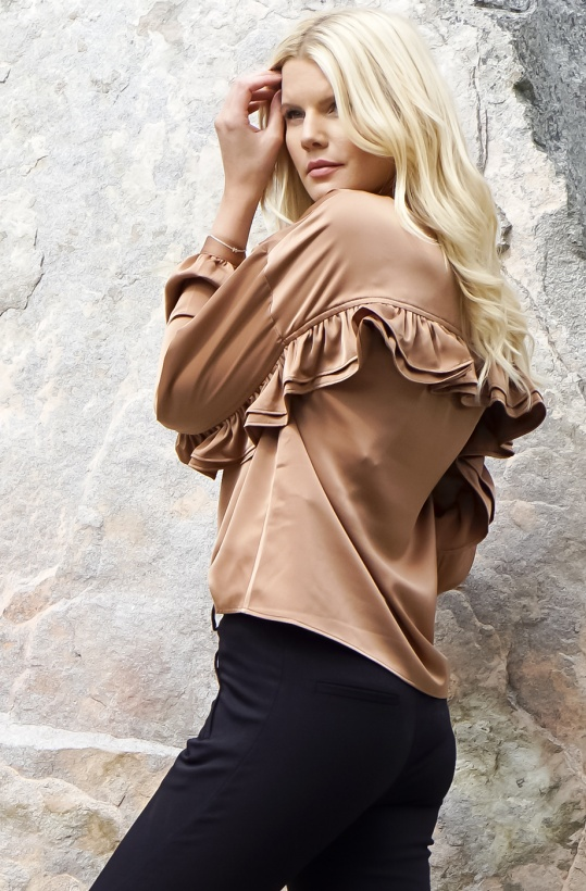 NORR - Tracy Ruffle Top