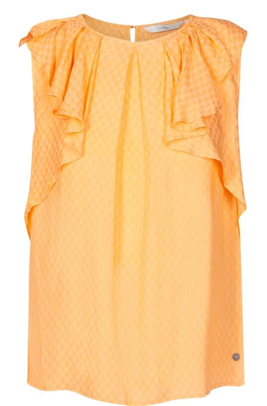 NUMPH -Bathshira Top Yellow