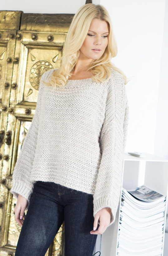 OOTD - Oversize Knitted Sweater