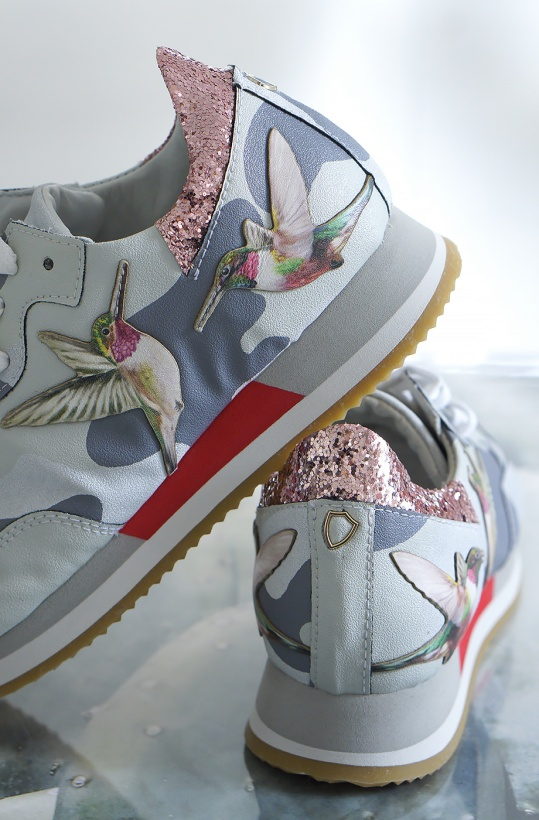 PHILIPPE MODEL - Paradis Sneaker with Hummingbird