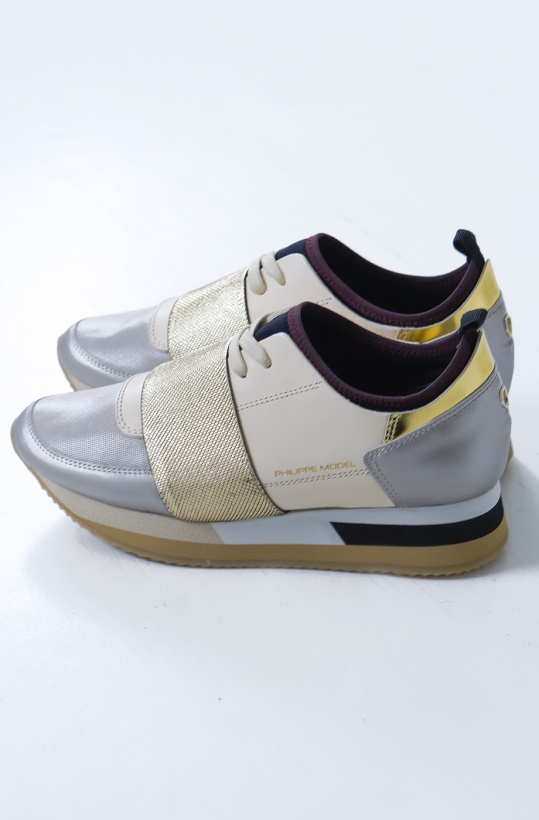 PHILIPPE MODEL - Gold/Silver Sneaker