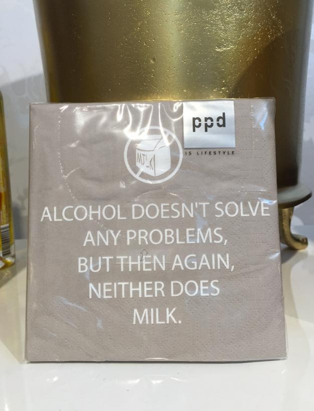PPD - Alcohol doesnt solve...