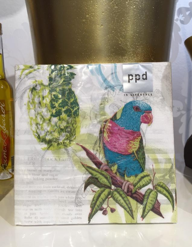 PPD - Servetter Papegoja