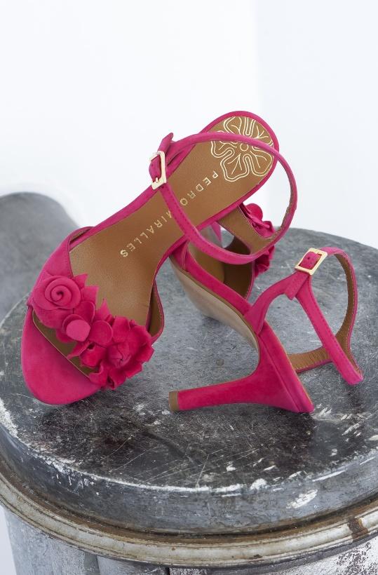 PEDRO MIRALLES - Flower Sandalett