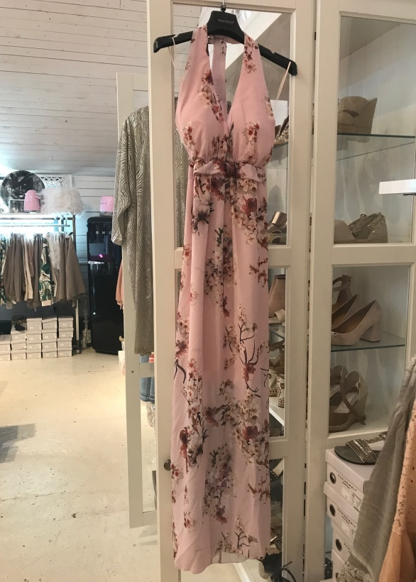 RINASCIMENTO - Långklänning Halterneck Blommig