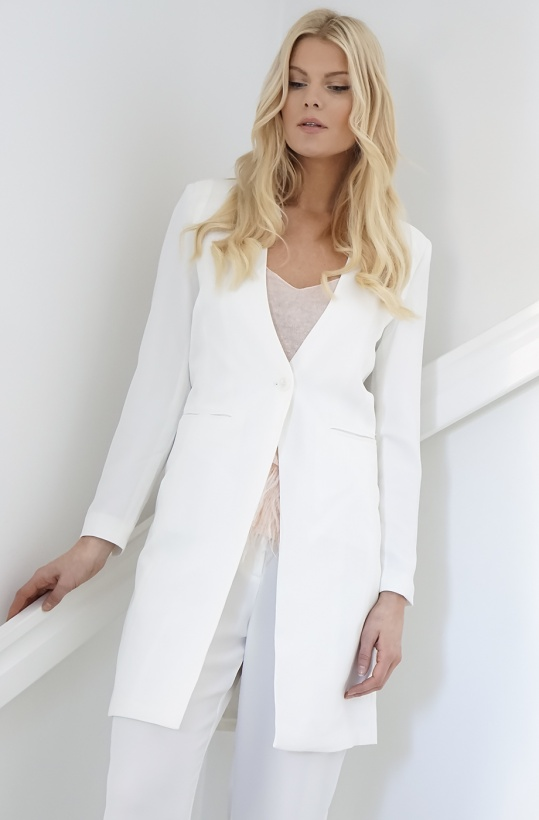 PLUS FINE - Nini Long Blazer