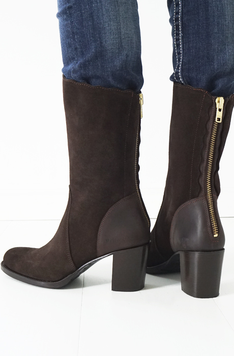 Primeboots - Claudia Mid Dark Brown