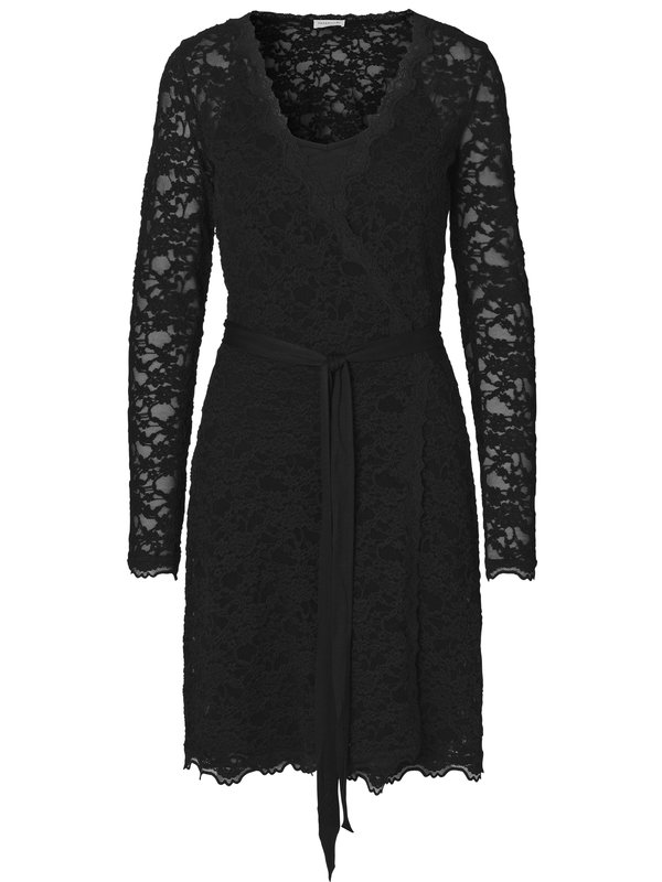 ROSEMUNDE - Lace Wrap Dress