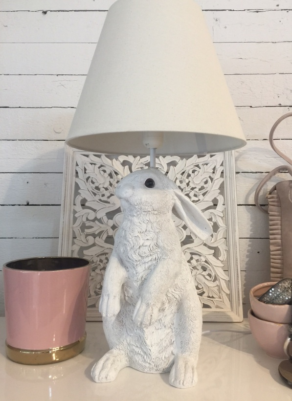 RABBIT LAMP White