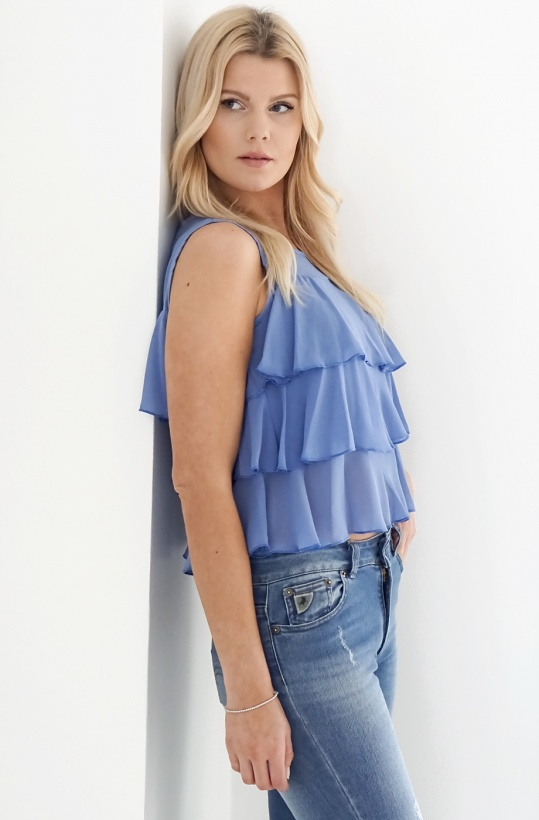 RINASCIMENTO - Frill Top no Sleeve