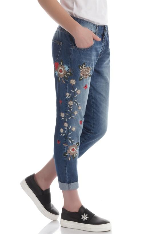 RINASCIMENTO - Jeans med brodyr
