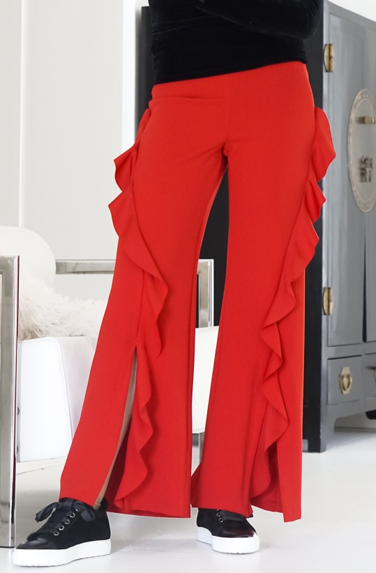 RINSCIMENTO - Red Frill Pant