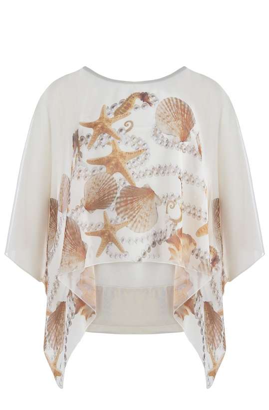 RINASCIMENTO - Sea shell Top