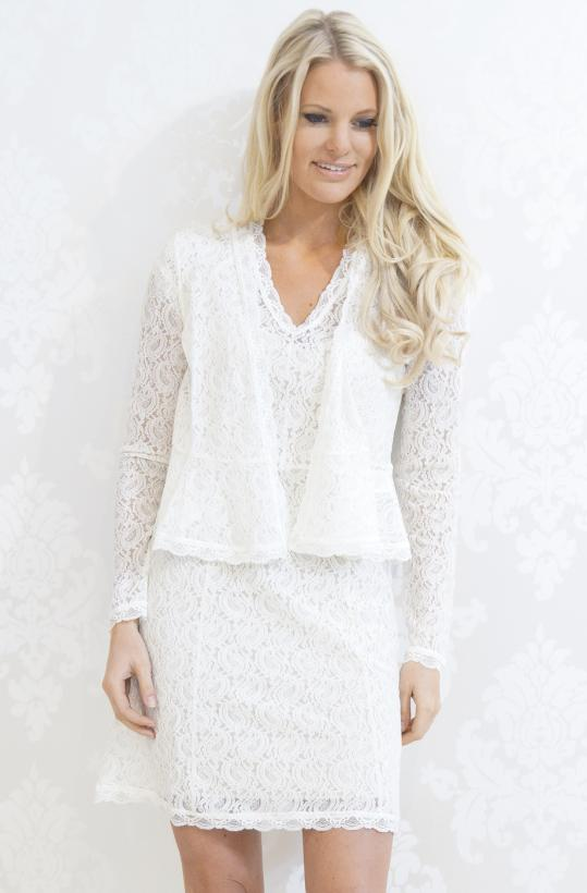 ROSEMUNDE - Full Lace Cardigan