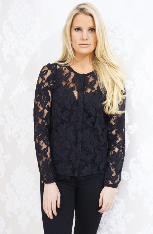 Rosemunde - Beautiful lace Shirt