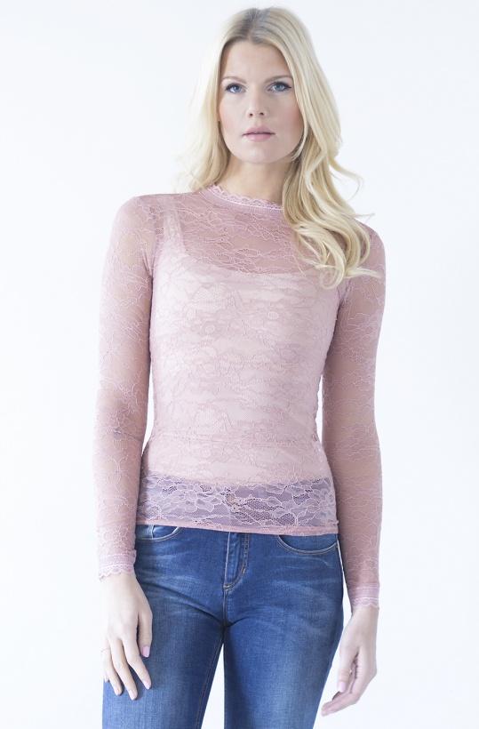 ROSEMUNDE - LongSleeve Lace Tshirt