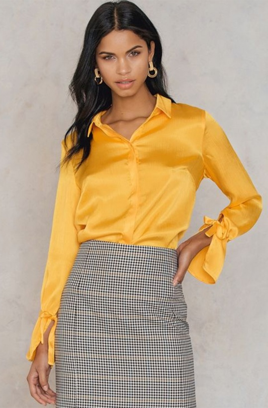 RUT & CIRCLE - Maci Pleat Shirt