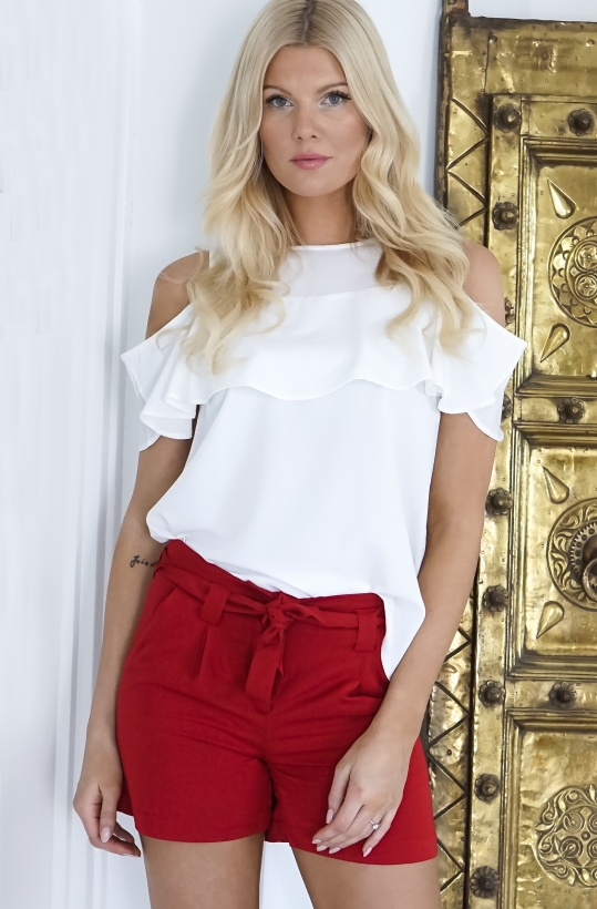 RUT & CIRCLE - Sanna Frill Top