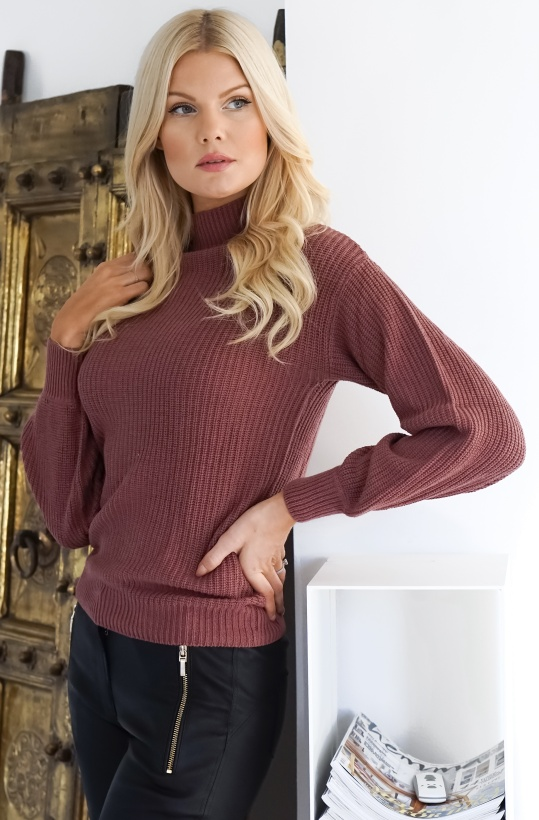 RUT & CIRCLE- Quini Rib Sweater