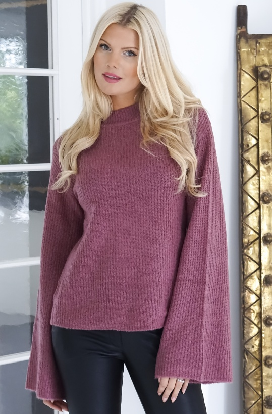 RUT & CIRCLE - Wide Sleeve Pullover