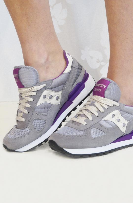 SAUCONY - light grey/purple