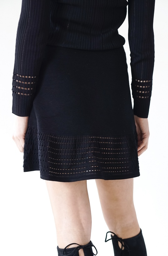 SCOTCH & SODA - Knitted A-line Skirt