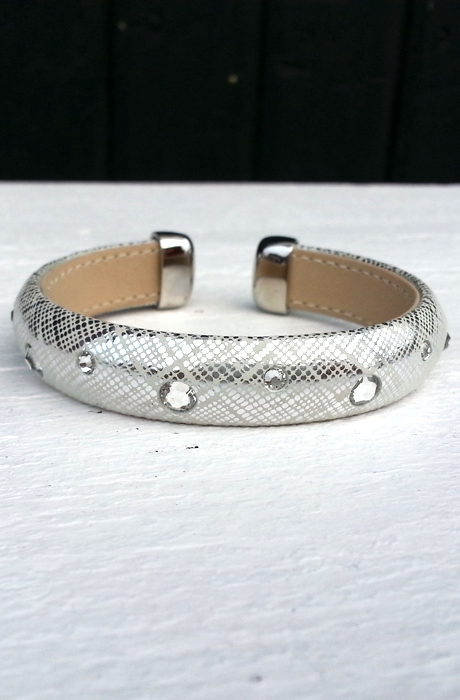 Bracelet with Swarovskis