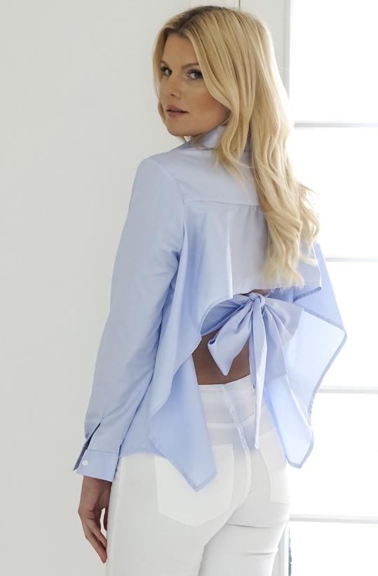 SLEEK ATELIER - Diana Butterfly Shirt