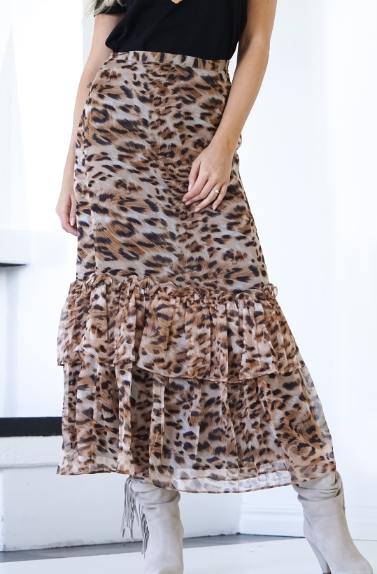 SOFIE SCHNOOR -Long Leo Skirt