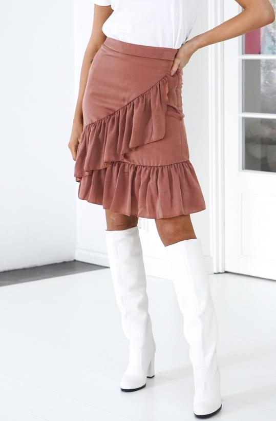 SOFIE SCHNOOR - Pink Frill Skirt