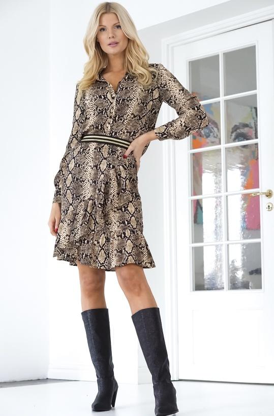 SOFIE SCHNOOR - Snake Skirt
