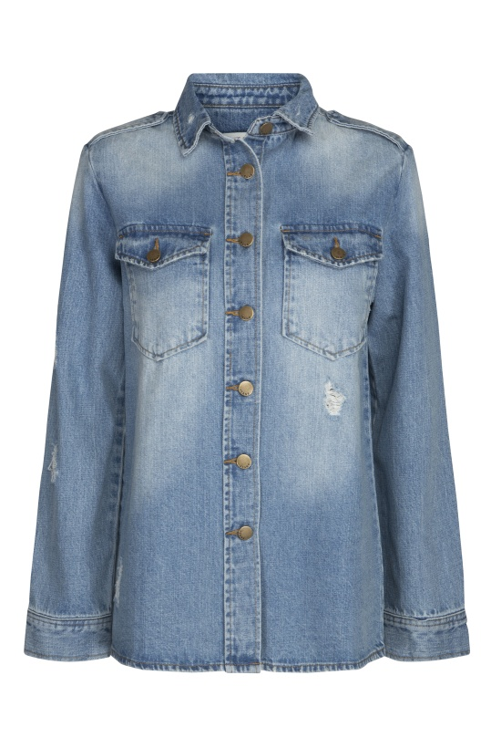 SOFIE SCHNOOR -Denim Shirt