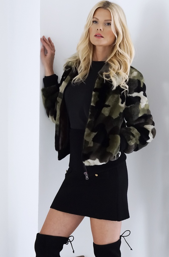 STAND - Marion Camo Bomber