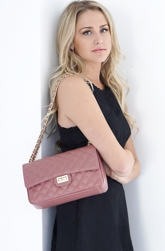 TOP-FLAP Bag Quilted