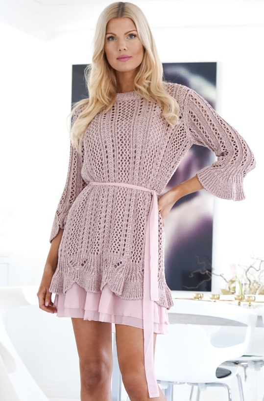 TWINSET - Knitted Glitter Dress
