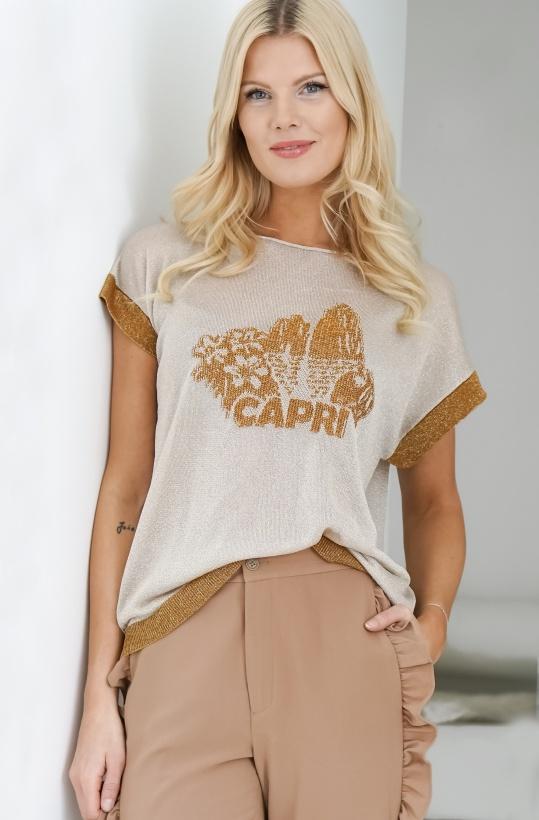 TWINSET - Capri Glitter Tshirt