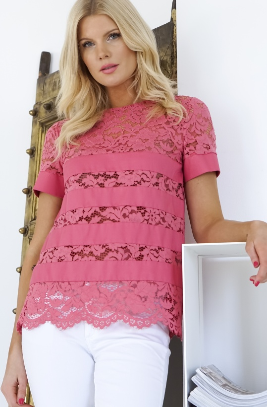 TWINSEST - Lace Tshirt