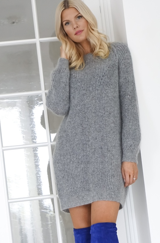 TWINSET - Maxi Lurex and Mohair Jumper