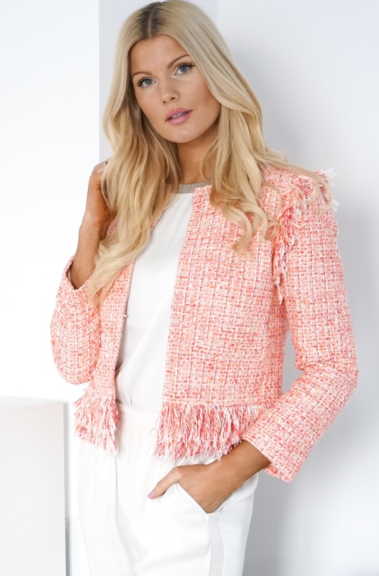 TWINSET - Short Tweed Jacket