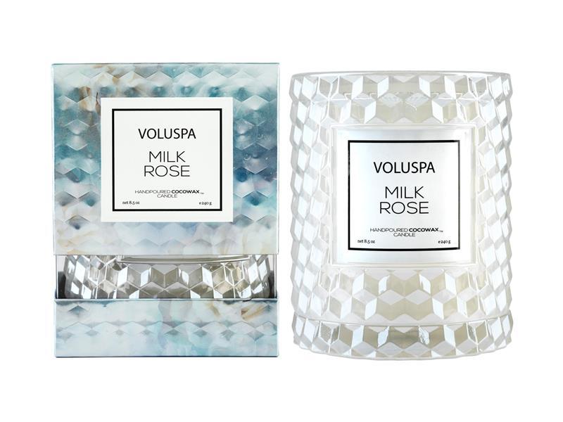 VOLUSPA - Boxed Icon Candle w ClocheCover