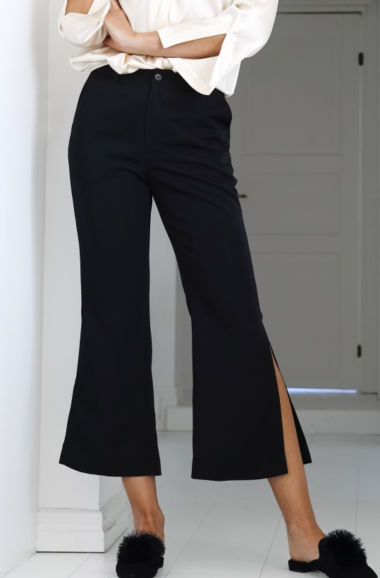VIKTORIA CHAN - Mandy Slit Pants