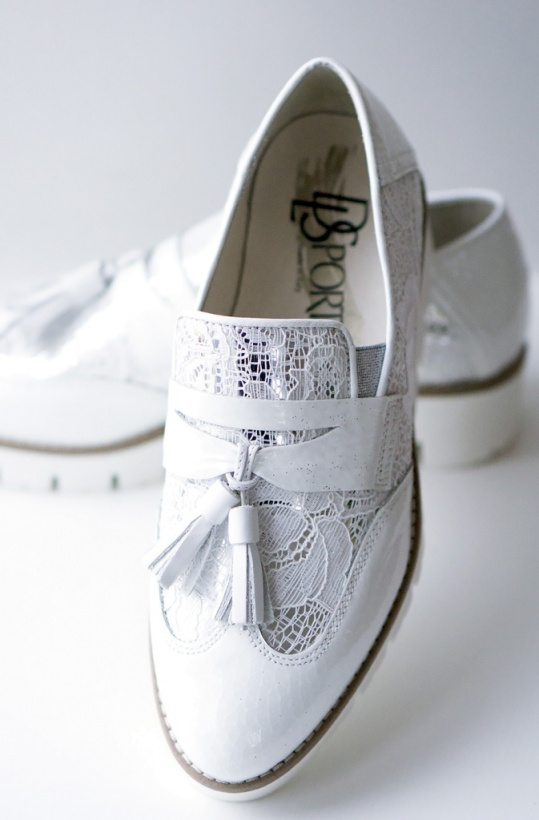 DL SPORT - White Loafer