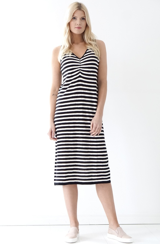 YERSE - Striped Dress
