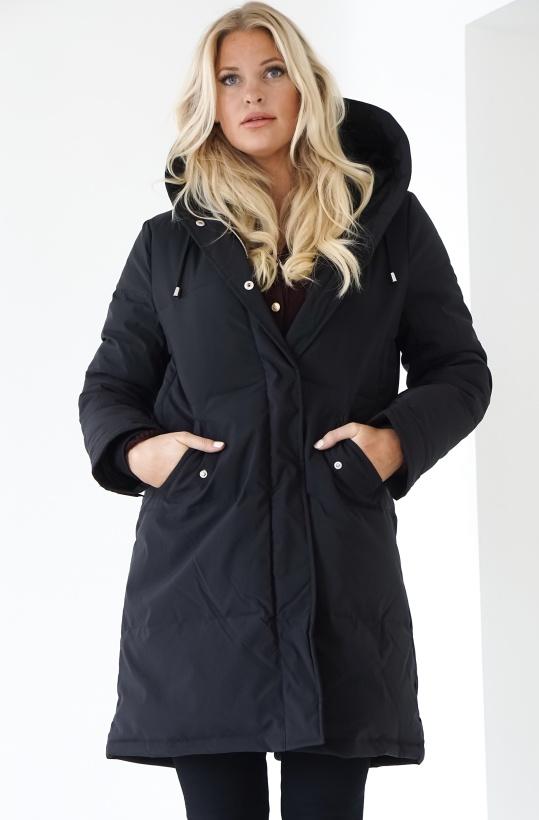 RUT & CIRCLE - Padded Hood Jacket
