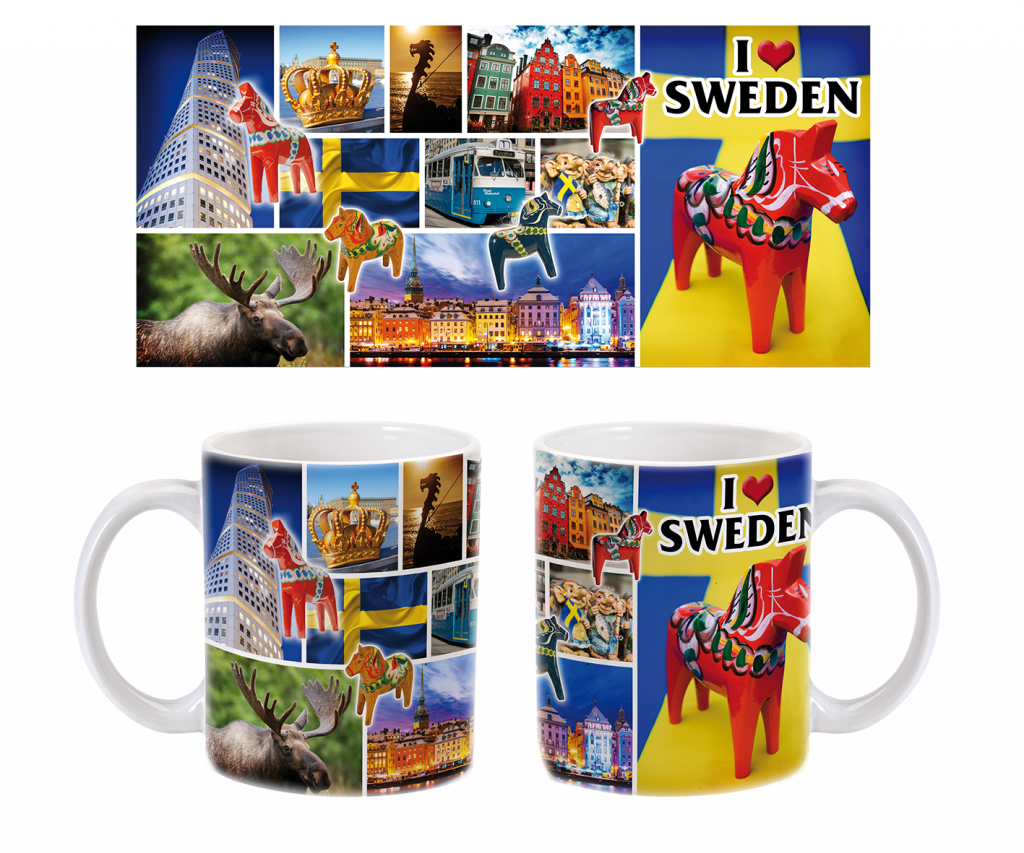 MUGG I LOVE SWEDEN
