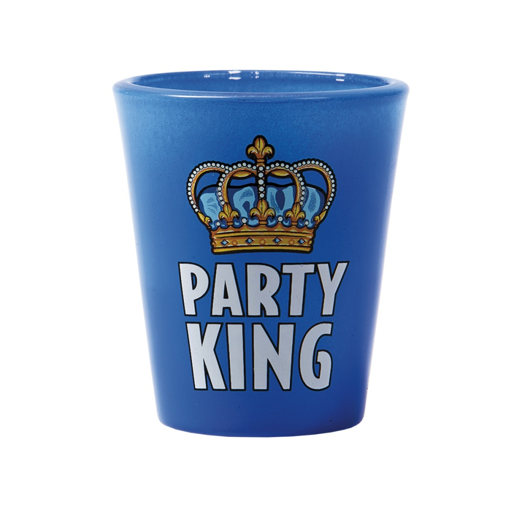 "SHOTGLAS ""PARTY KING"""