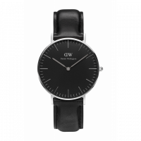 DW CLASSIC BLACK SHEFFIELD STÅL 36MM